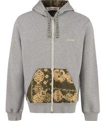 golden goose matthew cotton full zip hoodie