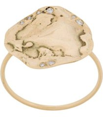 pascale monvoisin anel izia n2 de ouro amarelo 9k - dourado