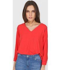 blusa roja new liza