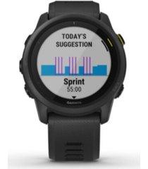 men's forerunner 745 black silicone strap smart watch 43.8mm