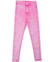 jeans high fit fucsia  pillin