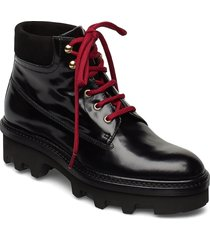 boots 3595 shoes boots ankle boots ankle boot - flat svart billi bi