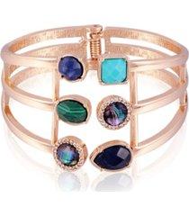 t tahari spring romance hinged cuff bracelet