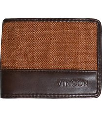 billetera marrón vinson not
