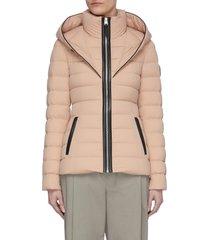 'andrea' full zip puffer jacket