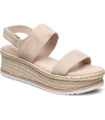 tropez 2 sandalette med klack espadrilles beige marc o'polo footwear