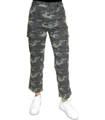 almost famous juniors' cargo straight leg pants