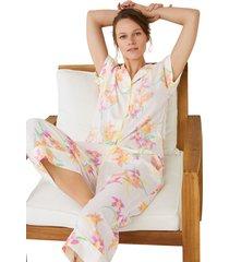 pijama largo camisero estampado multicolor women secret 492554890xl