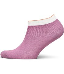 dolly herringb frill sock lingerie socks footies/ankle socks rosa becksöndergaard