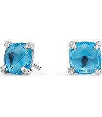 women's david yurman chatelaine earrings with diamonds