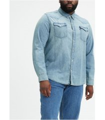 levi's men's big & tall classic western shirt