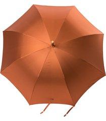 dolce & gabbana guarda-chuva metalizado - laranja