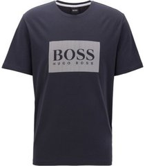 hugo boss lounge t-shirt - blauw