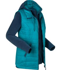gilet funzionale 3 in 1 con giacca in pile (blu) - bpc bonprix collection