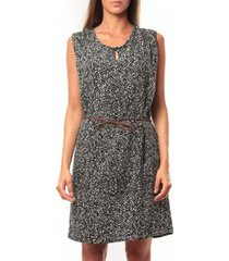 korte jurk vero moda amanda s/l short dress mix it 10108973 noir