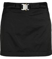 1017 alyx 9sm alyx buckle nylon satin skirt