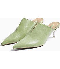 josephine sage ankle tie court heels - sage