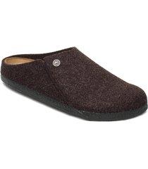 zermatt soft footbed slippers tofflor brun birkenstock