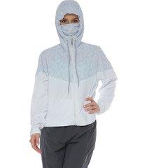 chaqueta protección con antifluido blanco racketball
