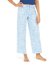 hue cotton temp tech animal-print pajama pants