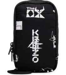 kenzo mobile phone pouch with printed logo