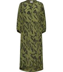kadarly dress dresses everyday dresses grön kaffe