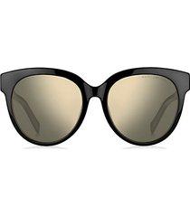 signature double j 56mm cat eye sunglasses