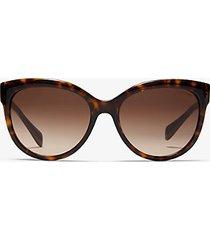mk occhiali da sole portillo - tartaruga (marrone) - michael kors