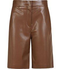 msgm button classic shorts