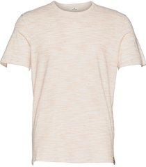 fine striped t-shirts short-sleeved beige tom tailor