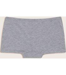 panty estilo boxer gris gris l