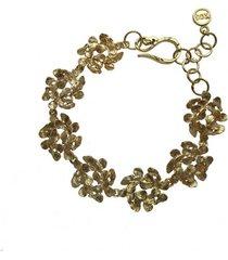 bransoletka z wianuszków złota