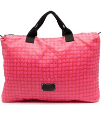 10 corso como logo-patch shoulder bag - pink