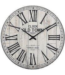 zegar clock old town drewniany