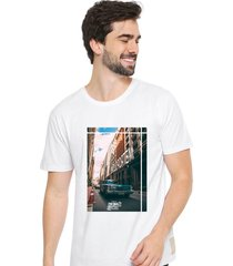 camiseta sandro clothing feeling branco - branco - masculino - dafiti