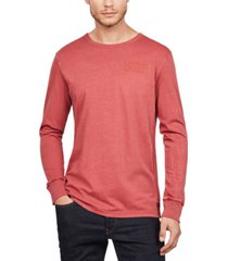 g-star raw men's gsrd graphic 2 long sleeve t-shirt