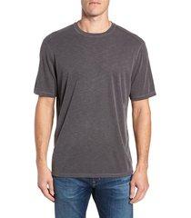 men's big & tall tommy bahama flip tide reversible t-shirt, size 1xlt - black