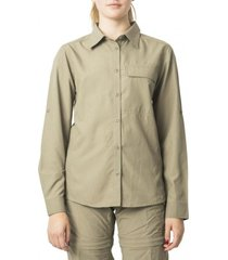 blusa outdoor ajustable beige kannú