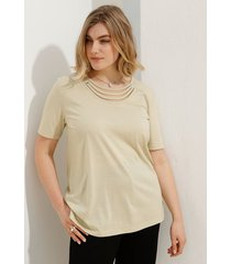 shirt m. collection beige