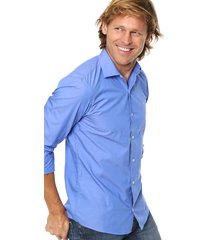 camisa azul scotfield shop florida 35 larga fit
