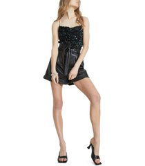 bardot belle paperbag shorts