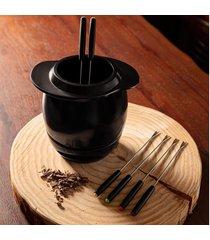 aparelho fondue 9 peças linea nanquim