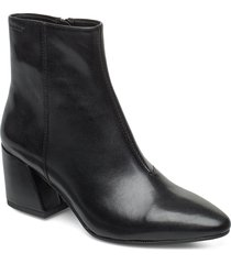 olivia shoes boots ankle boots ankle boot - heel svart vagabond