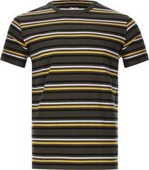 camiseta rayas delgadas color verde, talla s