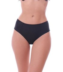calcinha de biquini simony lingerie tanga alta ambra beach preto - kanui