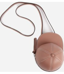j.w. anderson leather midi cap bag