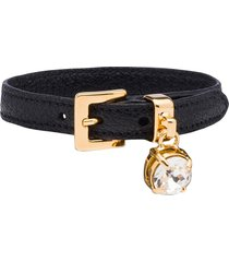 miu miu madras bracelet - purple