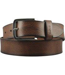 cinturón cuero marrón fagus