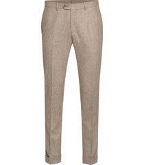 dean trousers kostuumbroek formele broek beige oscar jacobson