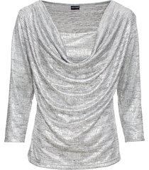 maglia a maniche lunghe (argento) - bodyflirt